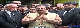 Rana Sanaullah Media Talk in LHR