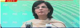 Dr Sania Nishtar Press Conference
